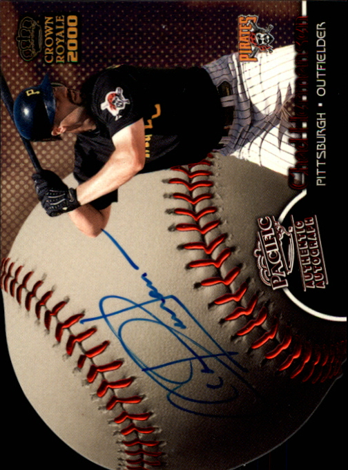 2000 Crown Royale Sweet Spot Signatures #21 Chad Hermansen