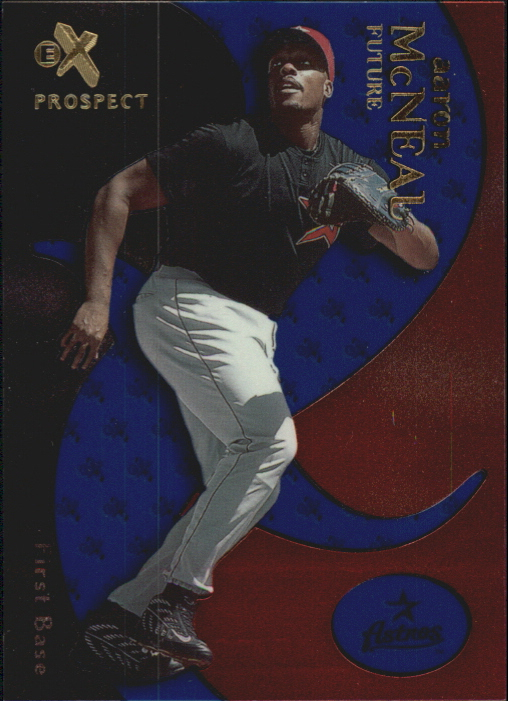 2000 E-X Essential Credentials Future #71 Aaron McNeal/20