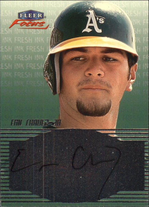 2000 Fleer Focus Fresh Ink #9 Eric Chavez