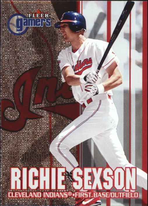 2000 Fleer Gamers #56 Richie Sexson