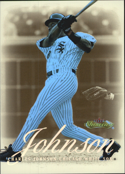 2000 Fleer Showcase Legacy Collection #24 Charles Johnson