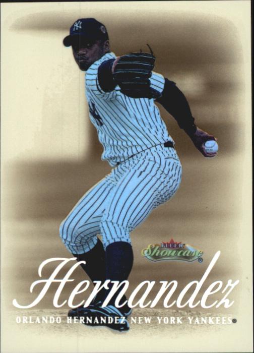 2000 Fleer Showcase Legacy Collection #67 Orlando Hernandez