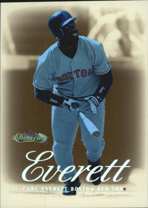 2000 Fleer Showcase Legacy Collection #69 Carl Everett