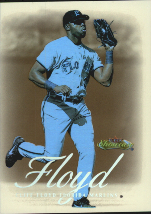 2000 Fleer Showcase Legacy Collection #74 Cliff Floyd