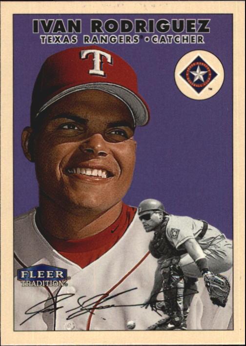 2000 Fleer Tradition Glossy #154 Ivan Rodriguez