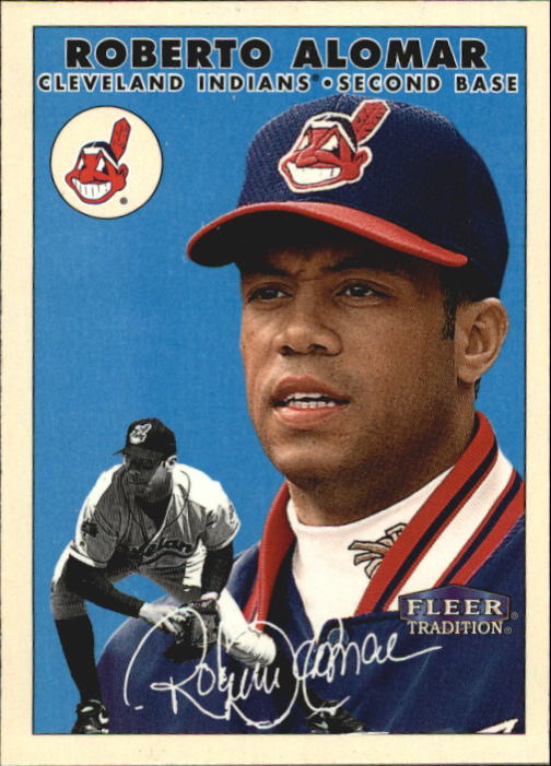 2000 Fleer Tradition Glossy #306 Roberto Alomar