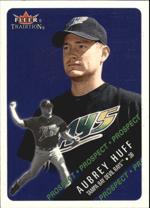 2000 Fleer Tradition Glossy #498 Aubrey Huff