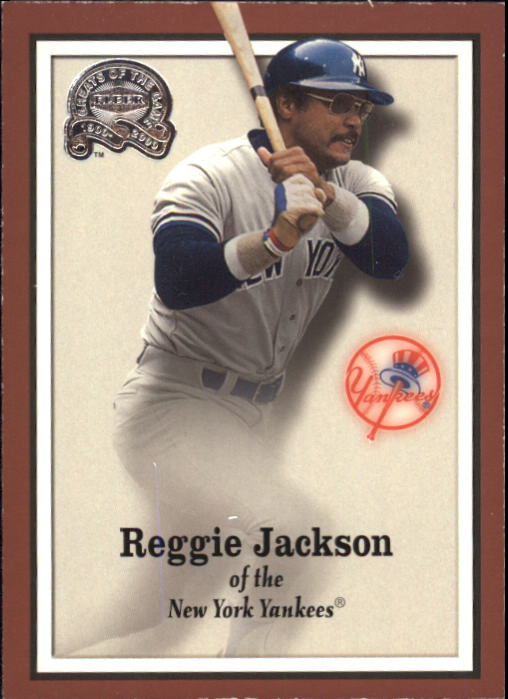 2000 Greats of the Game #9 Reggie Jackson