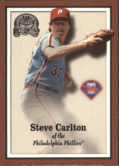 2000 Greats of the Game #40 Steve Carlton