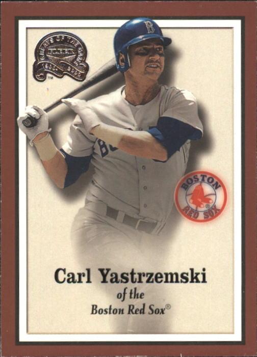 2000 Greats of the Game #79 Carl Yastrzemski