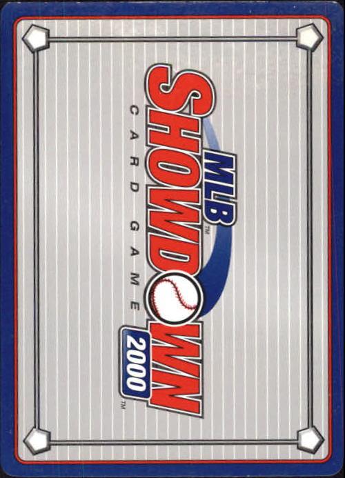2000 MLB Showdown 1st Edition #101 Paul Konerko back image