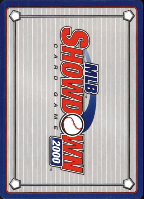 2000 MLB Showdown 1st Edition #284 Darryl Hamilton back image