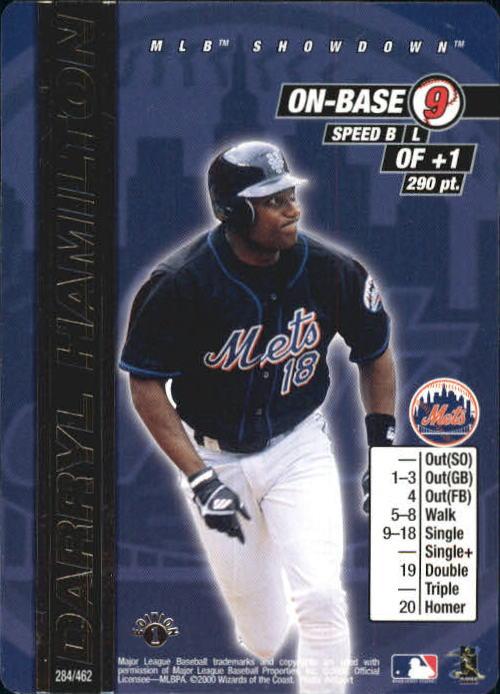 2000 MLB Showdown 1st Edition #284 Darryl Hamilton