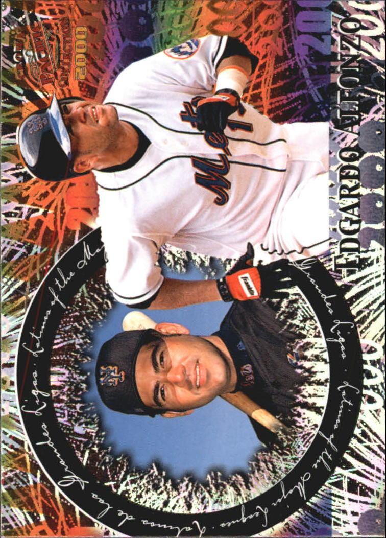 2000 Pacific Crown Collection Latinos of the Major Leagues #18 Edgardo Alfonzo