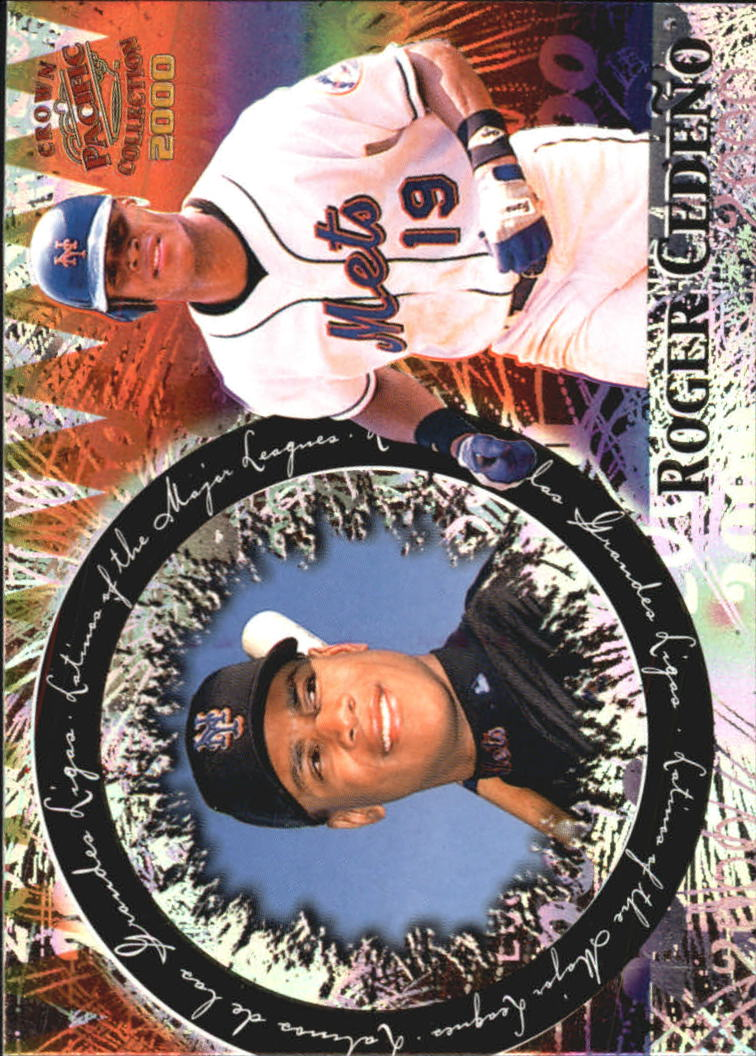 2000 Pacific Crown Collection Latinos of the Major Leagues #19 Roger Cedeno