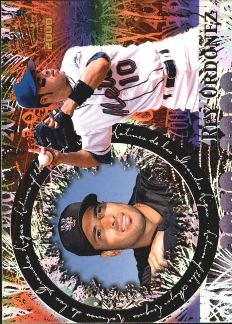 2000 Pacific Crown Collection Latinos of the Major Leagues #20 Rey Ordonez