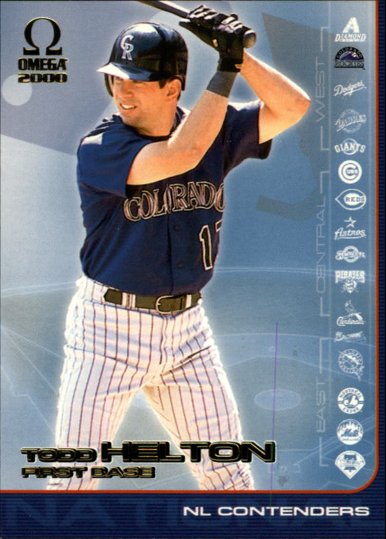 2000 Pacific Omega AL/NL Contenders #NL7 Todd Helton