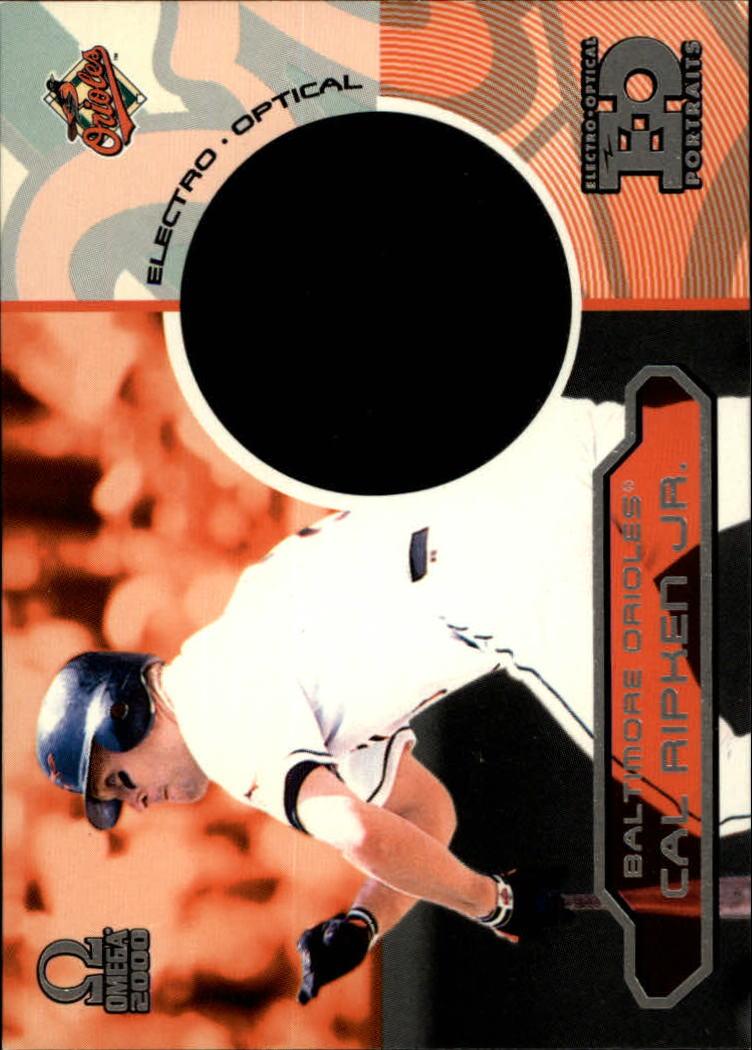 2000 Pacific Omega EO Portraits #3 Cal Ripken
