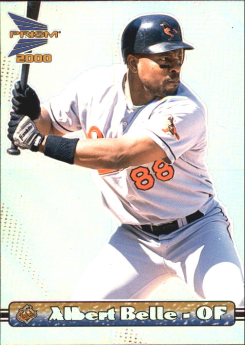 2000 Pacific Prism #17 Albert Belle