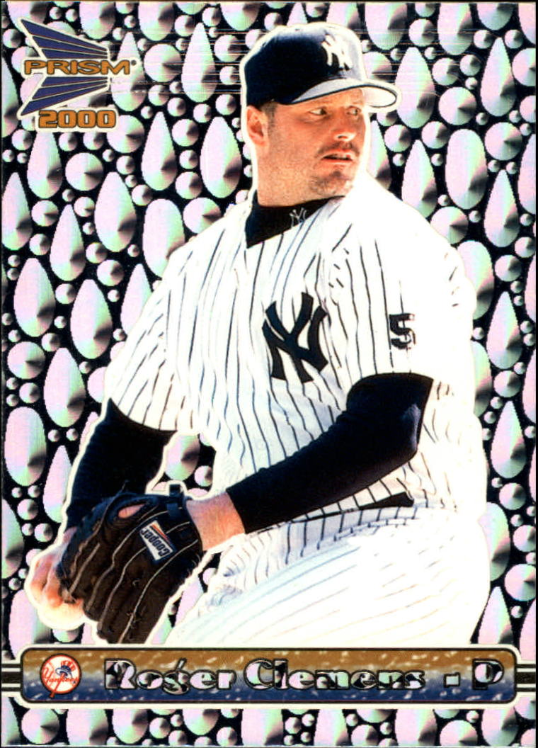 2000 Pacific Prism Drops Silver #97 Roger Clemens *