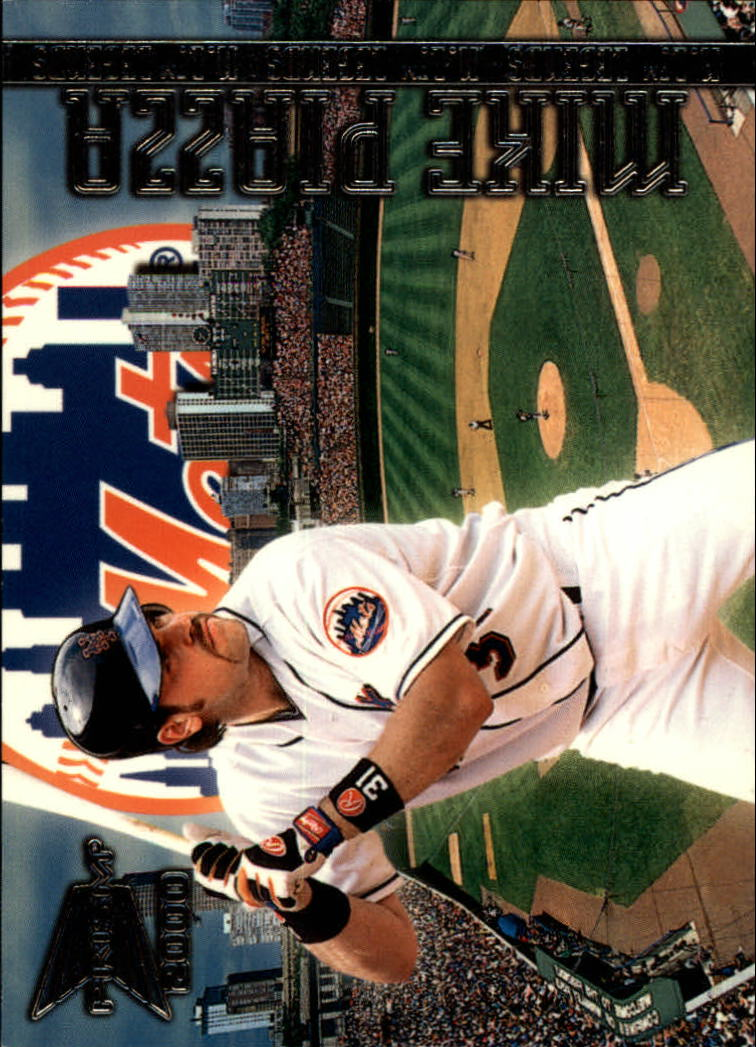2000 Pacific Prism AL/NL Legends #N7 Mike Piazza