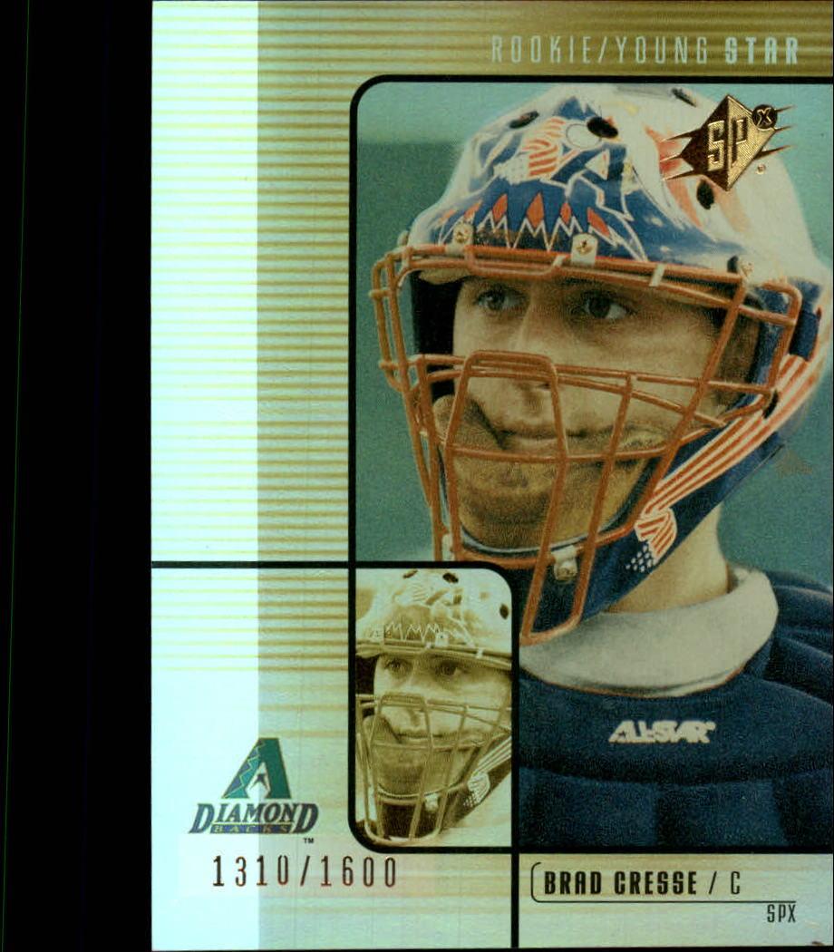 2000 SPx #134 Brad Cresse/1600 RC