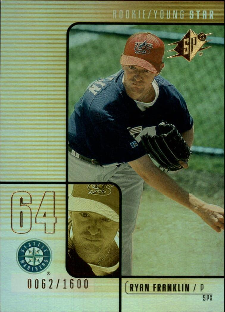 2000 SPx #135 Ryan Franklin/1600 RC