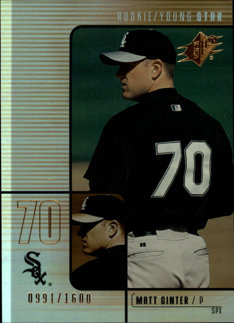 2000 SPx #196 Matt Ginter/1600 RC