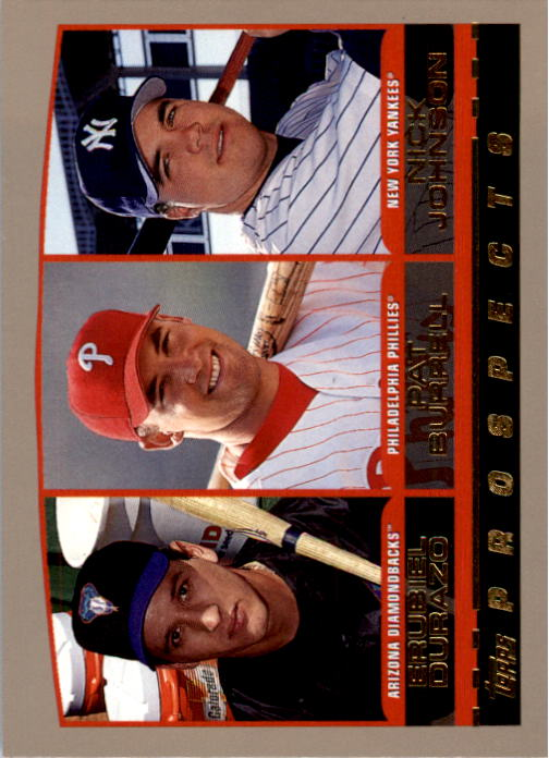 2000 Topps #204 Durazo/Burrell/Johnson