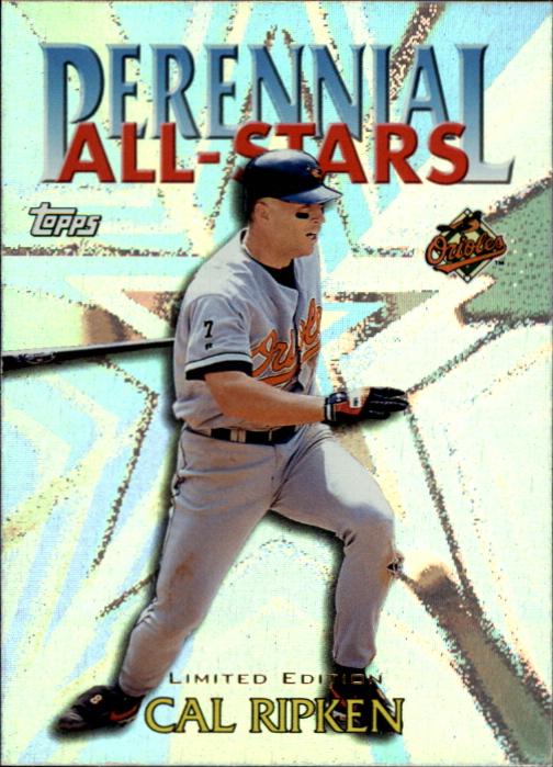 2000 Topps Limited Perennial All-Stars #PA4 Cal Ripken