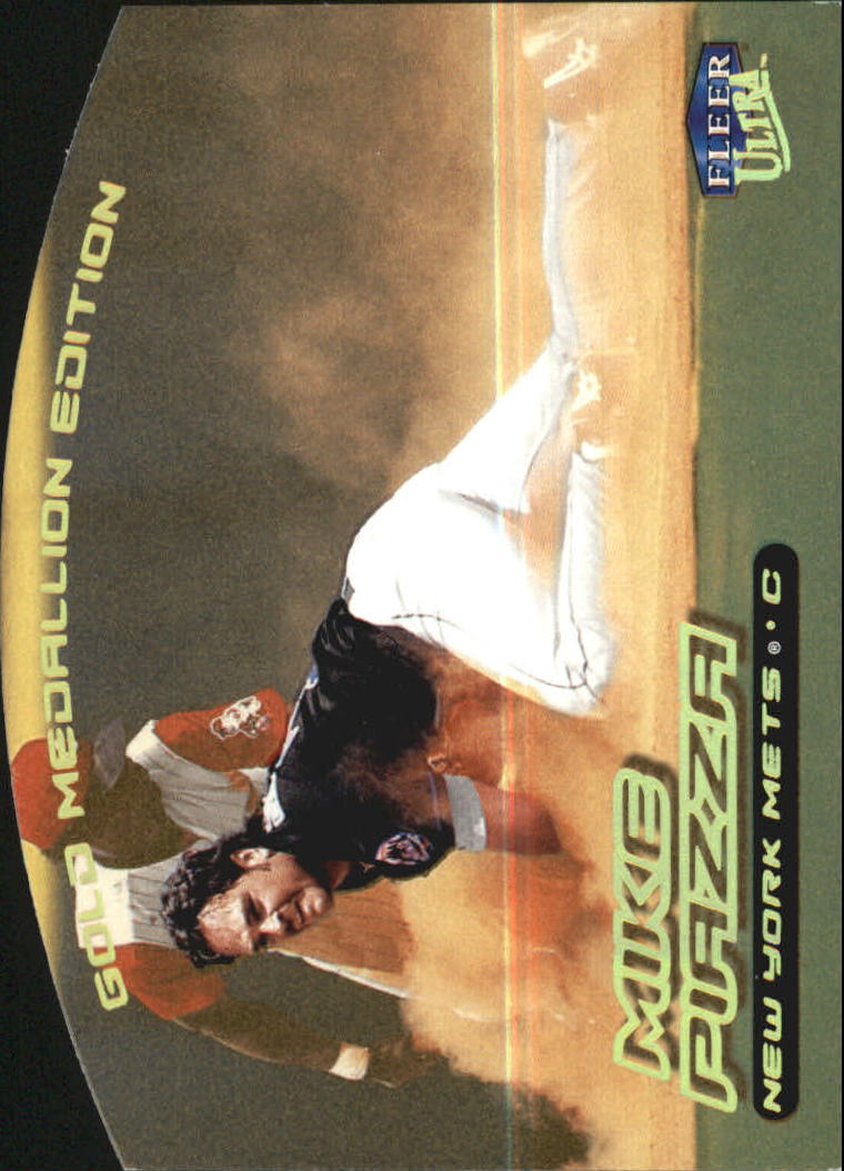 2000 Ultra Gold Medallion #165 Mike Piazza