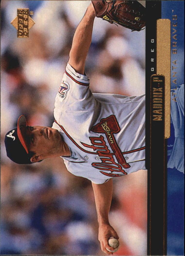 2000 Upper Deck #44 Greg Maddux