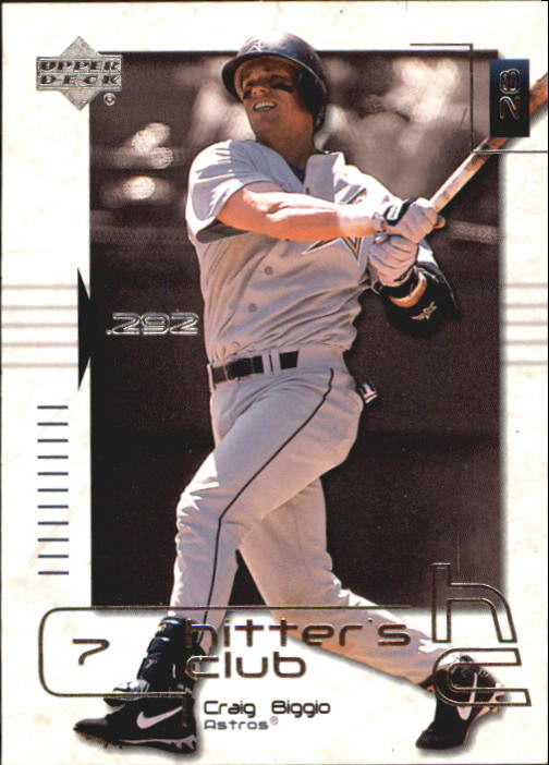 2000 Upper Deck Hitter's Club #4 Craig Biggio