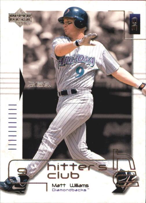 2000 Upper Deck Hitter's Club #17 Matt Williams