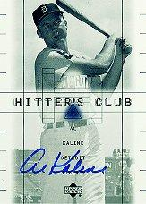 2000 Upper Deck Hitter's Club Autographs #AL Al Kaline
