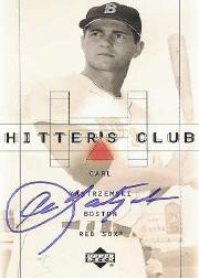 2000 Upper Deck Hitter's Club Autographs #YAZ Carl Yastrzemski