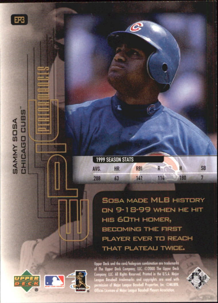 2000-Upper-Deck-Hitter-039-s-Club-Epic-Performances-Baseball-Cards-Pick-From-List thumbnail 5