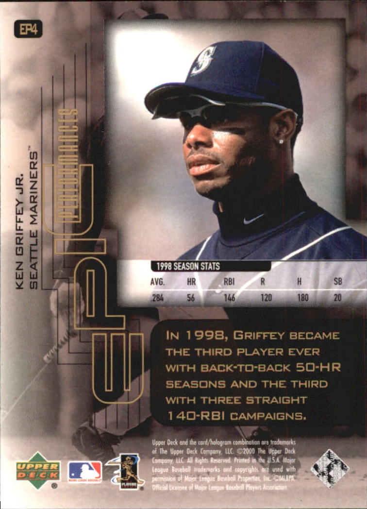 2000-Upper-Deck-Hitter-039-s-Club-Epic-Performances-Baseball-Cards-Pick-From-List thumbnail 7