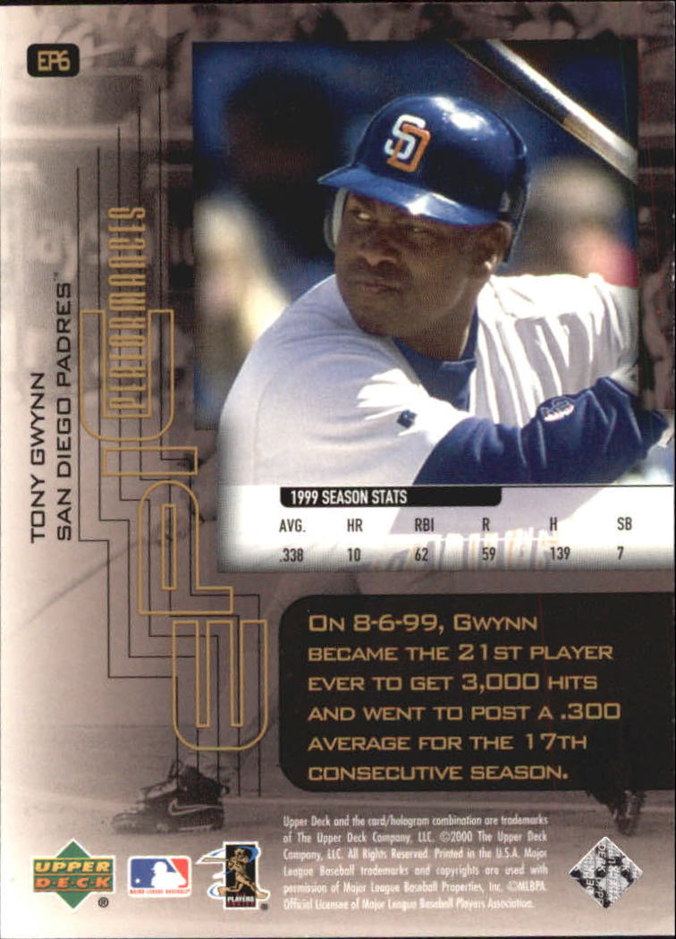 2000-Upper-Deck-Hitter-039-s-Club-Epic-Performances-Baseball-Cards-Pick-From-List thumbnail 9