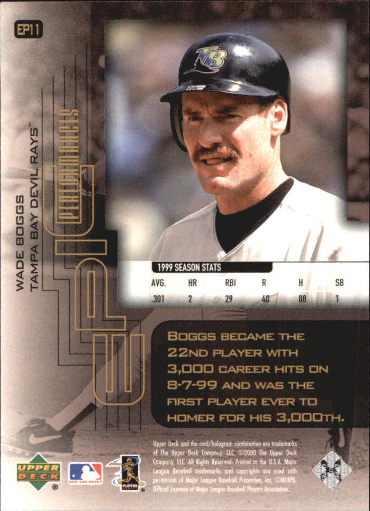 2000-Upper-Deck-Hitter-039-s-Club-Epic-Performances-Baseball-Cards-Pick-From-List thumbnail 15