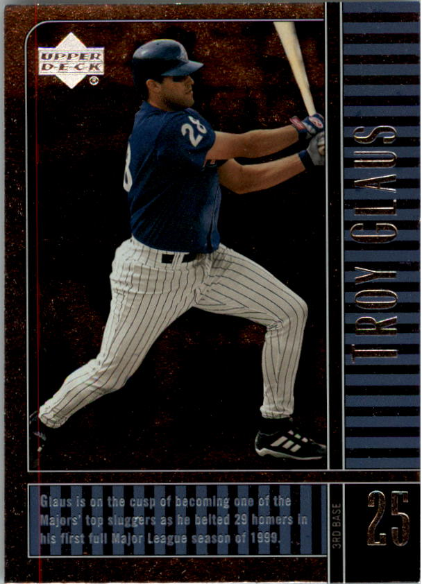 2000 Upper Deck Legends #2 Troy Glaus