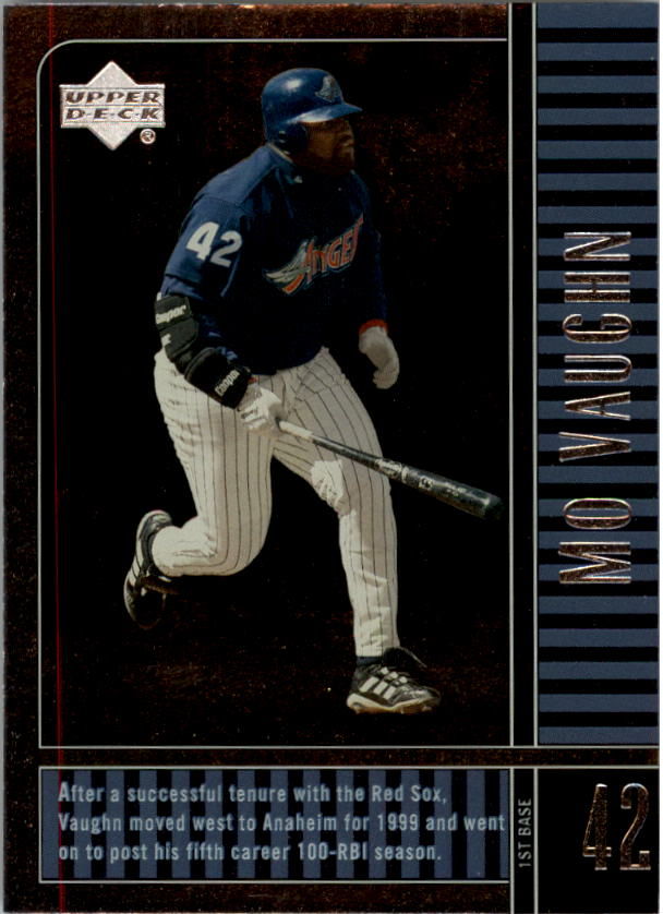 2000 Upper Deck Legends #3 Mo Vaughn