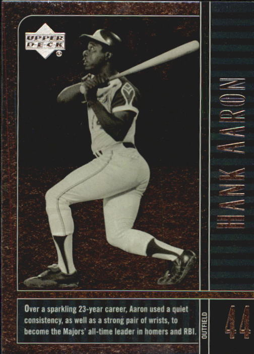 2000 Upper Deck Legends #9 Hank Aaron