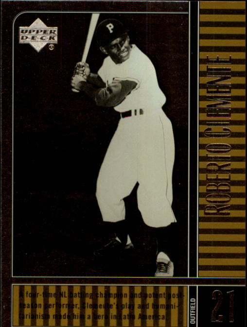 2000 Upper Deck Legends #55 Roberto Clemente
