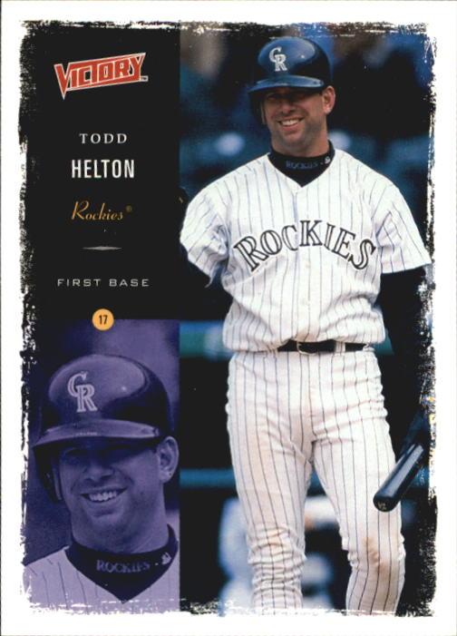2000 Upper Deck Victory #269 Todd Helton