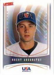 2000 Upper Deck Victory #446 Brent Abernathy USA RC