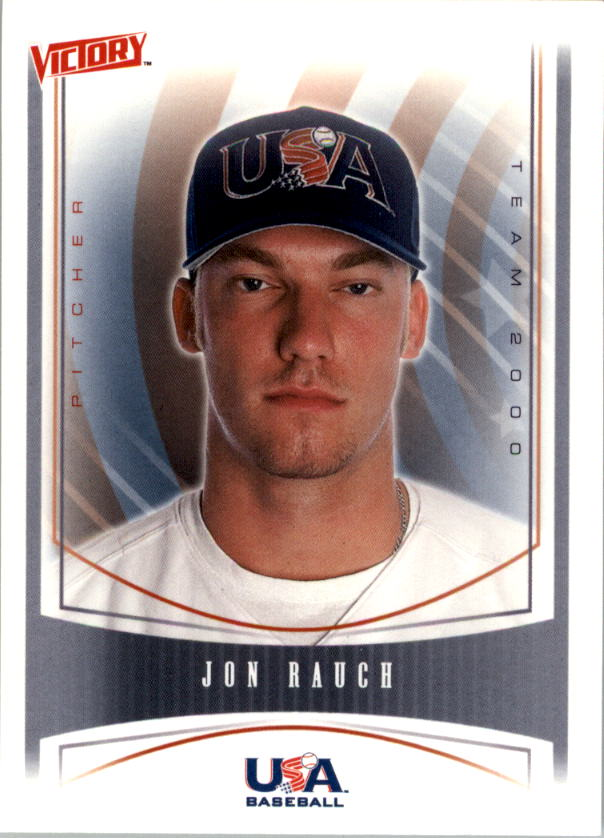2000 Upper Deck Victory #455 Jon Rauch USA RC