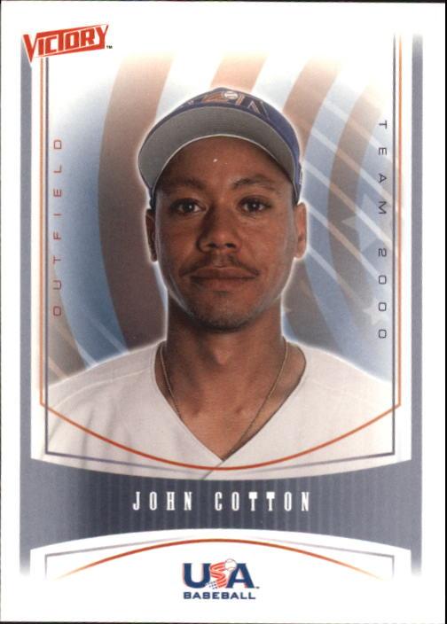 2000 Upper Deck Victory #464 John Cotton USA RC
