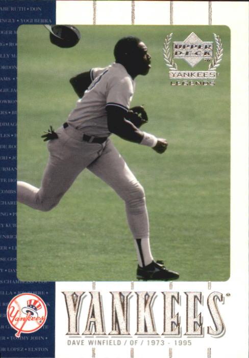 2000 Upper Deck Yankees Legends #8 Dave Winfield
