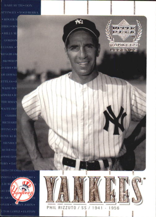 2000 Upper Deck Yankees Legends #11 Phil Rizzuto